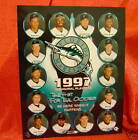 Florida Marlins 1997 Inaugural Playoffs 8x10 Photo MLB