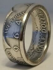 Coin Rings made from Silver 1964 JFK Kennedy Half Dollars in size 8-14