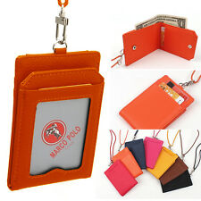 New Credit Card ID & Document Holders Wallet Necklace Neck Strap Purse-002