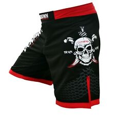 Lockdown Black Pearl UFC MMA Shorts KSW Cage MMA Fightshorts - Sizes S-XL