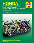 Haynes Manual 4873 Honda SH125 SH125i SES125 Dylan NES125 @125 PES125 PS125i NEW