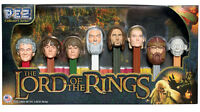 PEZ LORD OF THE RINGS MOVIE CANDY DISPENSER FILM COLLECTORS SERIES SET UNOPENED