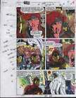 1994 Marvel Comics Forceworks color guide art page:Avengers Iron Man/Black Widow