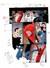 1996 Daredevil 357 page 3 Marvel Comics color guide production artwork: 1990's