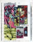 1998 Daredevil 375 page 29 Marvel Comics color guide art: 1990's