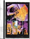 Original 1997 X-Man 25 Marvel Comics color guide art page 35: 1990's X-Men