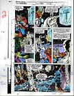 1991 Original Avengers 330 page 2 Marvel Comics color guide art: She-Hulk/Thor