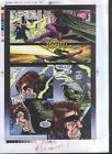 X-Men/Gambit/Mutant X Marvel Comics production proof art 23 page 7:Dracula/Storm