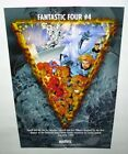 1997 Silver Surfer Fantastic Four 4 Marvel Comics 18 by 12 promo poster: 1990's