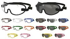 Genuine KROOPS TRIPLE SLOT SkyDiving Parachuting Goggles |Choice of trim colours