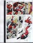 Original Daredevil vs X-Men Omega Red Marvel Comic color guide art page 15:Colan