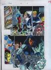 Bagley Avengers/Iron Man/Thunderbolts 44 page 14 Marvel Comics color guide art