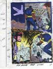 1993 Uncanny X-Men 305 page 12 Marvel Comics color guide art:Rogue/Iceman/Bishop