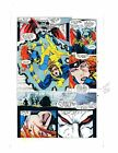 1992 X-Men 16 page 13 Marvel Comics proof art: Stryfe/Jean Grey/Cyclops/1990's