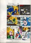 1984 Captain America 296 page 14 Marvel Comics original color guide art: 1980's