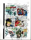 1988 Buscema Avengers 296 page 3 Marvel Comics original color guide artwork:Thor