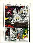 1989 Avengers 309 page 17 Marvel Comics original color guide art: She-Hulk/Sersi