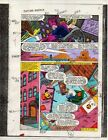 1986 Marvel Comics Captain America 316 page 2 color guide art: Avengers Hawkeye