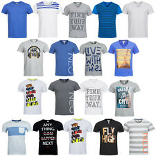 adidas NEO Herren T-Shirt XS S M L XL 2XL Summer Headphone Stripe Shirt neu