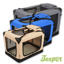 JESPET Soft-Transportbox Hundebox Autotransportbox Faltbox Hundetransportbox