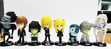 Death Note Japanese Anime Figurines with stander UK Stock