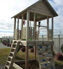 "THE ""OUTLOOK"" KIDS OUTDOOR TIMBER FORT/CUBBY - BY DFR"