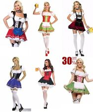 SEXY GERMAN BEER GIRL COSTUME OKTOBERFEST FANCY DRESS PARTY WOMENS LADIES