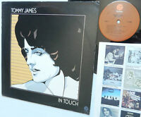 TOMMY JAMES In Touch FANTASY F-9509 near-mint vinyl
