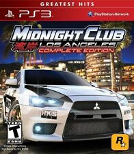 Midnight Club Los Angeles L.A. Car Racing PS3 NEW