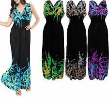 Women's Plus Size 2X 3X 4X Maxi Casual Sundress Party Hawaiian Long Summer Dress