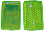 For Sony Ericsson Xperia Mini Pro SK17i SK 17i Front & Back Gel Case Cover Green