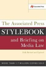 The Associated Press Stylebook and Briefing on Media Law Fully Revised 2002