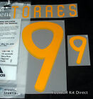 Spain Torres 9 2010 World Cup Football Shirt Name Set Kit Home