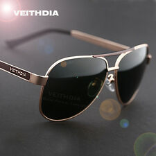 New Polarized Men's Sunglasses Outdoor Sports Aviator Eyewear Driving Glasses