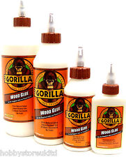 Gorilla Wood Glue Wood Adhesive Glue Weatherproof Super Strong Quick Dry New