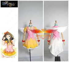 Beyond the Boundary Ai Shindo Idol Theatrical Dress Unifrom Cosplay Costume