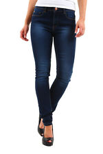 NEU Only Damen Skinny Jeans Women Tight Fit Jeans Denim Blue - 55% Sale