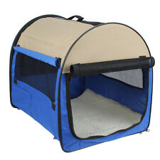 Soft Pet Dog Cat Puppy Travel Carry Carrier Tote Cage Bag Folding Crate House