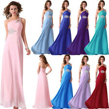 NEW CHEAP Long Chiffon Evening Cocktail Party Gown Wedding Bridesmaid Prom Dress