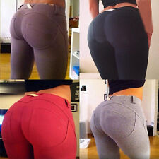 Womens Sexy Skinny High Waist Leggings Stretchy Bodycon Pencil Pants Trousers