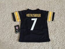 Nike Pittsburgh Steelers BEN ROETHLISBERGER jersey toddler 2T 3T 4T youth Brown