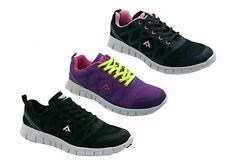 Ladies Sport Shoes Runners/Sneakers Areosport Quick Black/White Size US 6-11