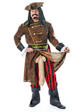 Deluxe Captain John Longfellow Rude Pirate Fancy Dress Stag Night Party Costume
