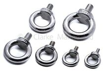 A4 316 Marine grade stainless steel lifting eye bolt bolts M5 M6 M8 M10 M12 580