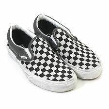 Vans Unisex Classic Slip On Overwashed Shoe Black / Checker