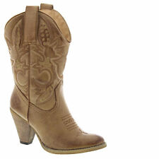 Very Volatile Women's BOULDER WESTERN Boot TAN