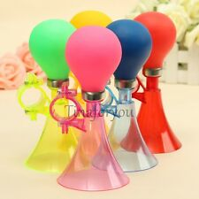 Bicycle Bike Cycling Retro Metal Air Horn Hooter Bell Bugle Rubber Squeeze NEW