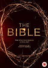 The Bible TV Mini-Series - Complete (DVD, 2013) New & Sealed