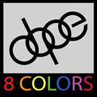 DOPE Audi Decal - Vinyl Sticker A4 - S4 - A6 - RS4