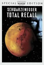 Total Recall (DVD, 2002, Special Edition) Arnold Schwarzenegger LIKE NEW wrapped